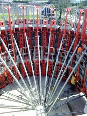 Construction de la Station d'épuration de Miremont